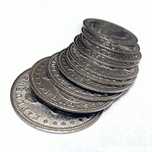 Palming Morgan Dollar Replica (10 Coins) by Shawn ...