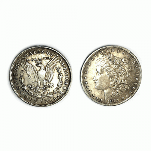 Magnetic Morgan Dollar Replica (1 Coin) by Shawn M...