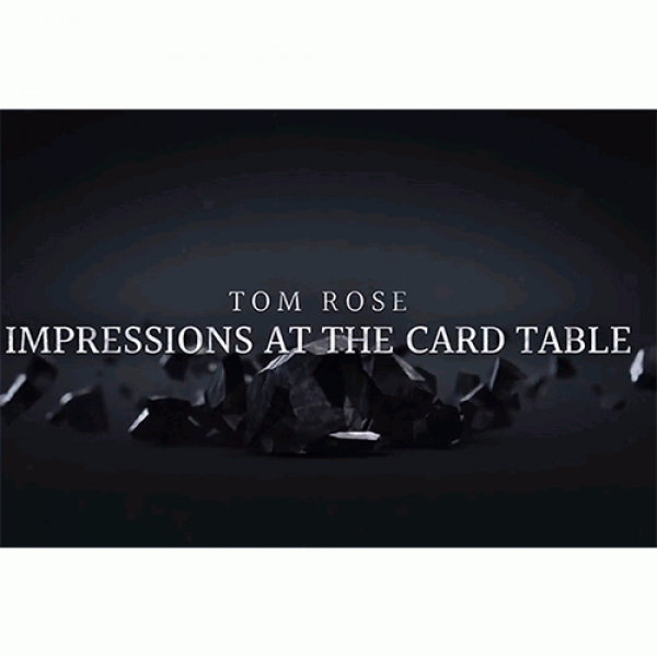 Impressions at the Card Table by Tom Rose - 2 DVD set