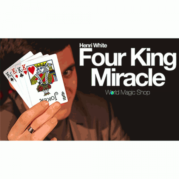 Four King Miracle (Gimmick and Online Instructions...