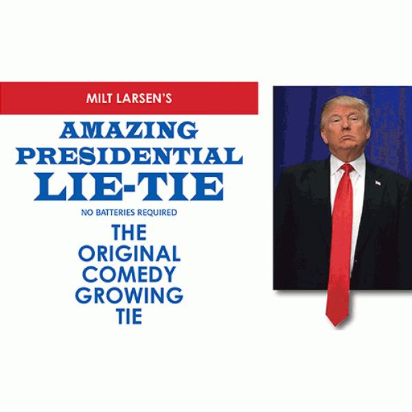 Amazing Presidential Lie Tie by Milt Larsen