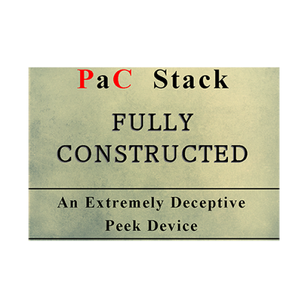 PaC Stack: Fully Constructed (Gimmicks and Online ...