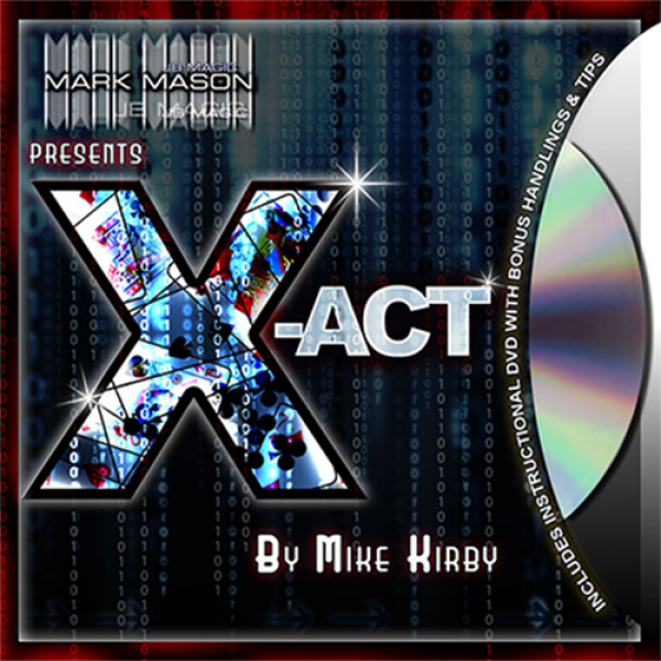 X-act (blue) by Mike Kirby