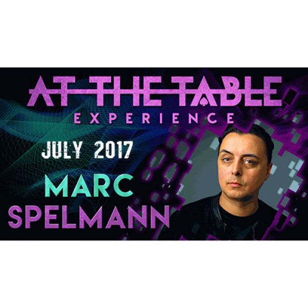 At The Table Live Lecture Marc Spelmann July 19th ...