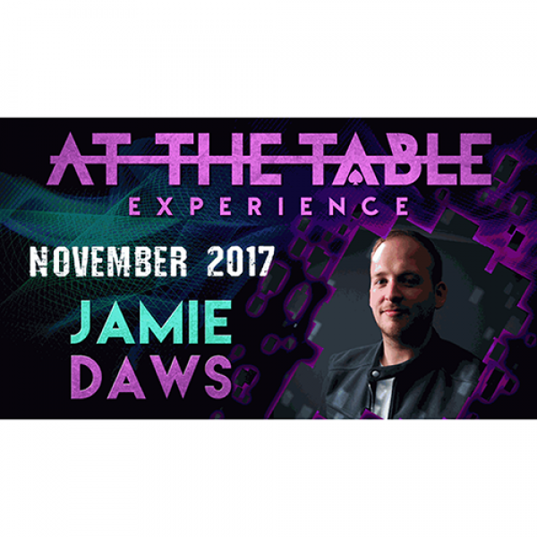 At The Table Live Lecture Jamie Daws November 15th...