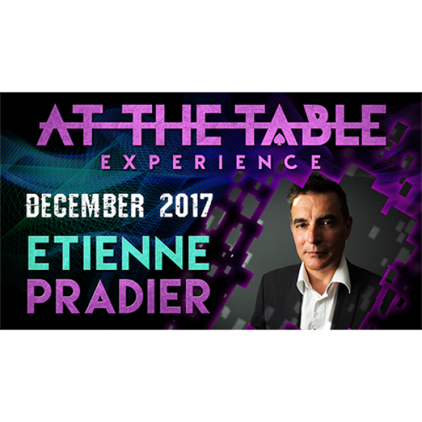 At The Table Live Lecture Etienne Pradier December...