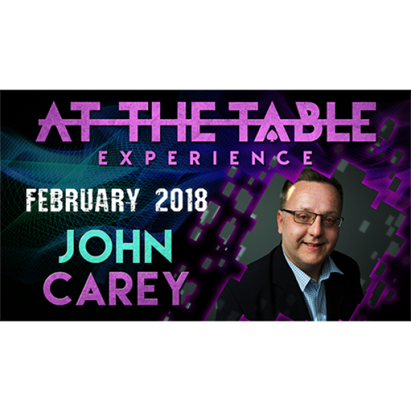 At The Table Live Lecture John Carey February 21st...