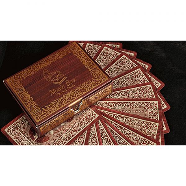 Music Box Playing Cards by Collectible Playing Cards