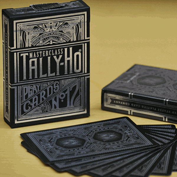 Tally Ho Masterclass (Black) Playing Cards