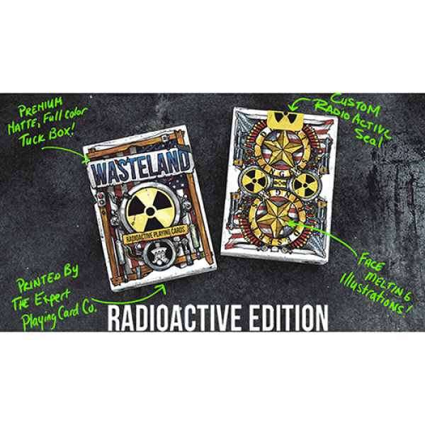 Wasteland Radio Active Edition Playing Cards by Ja...