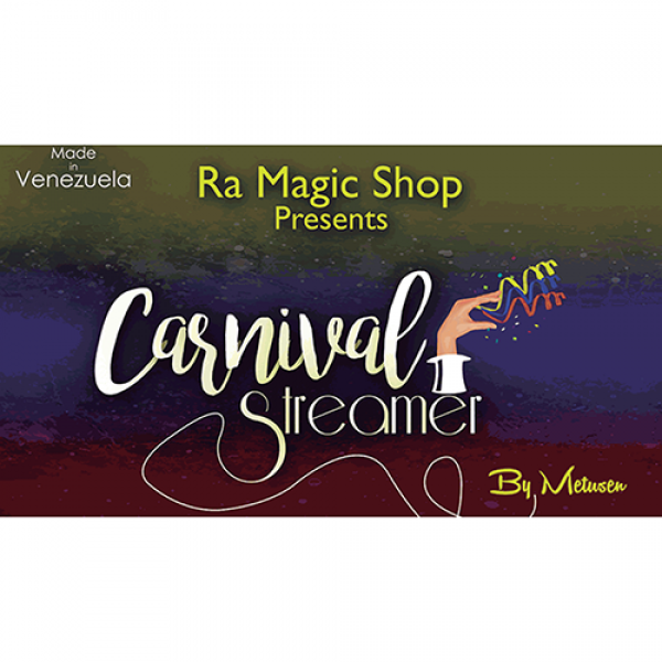 Carnival Streamer Halloween (Orange and Black) by ...