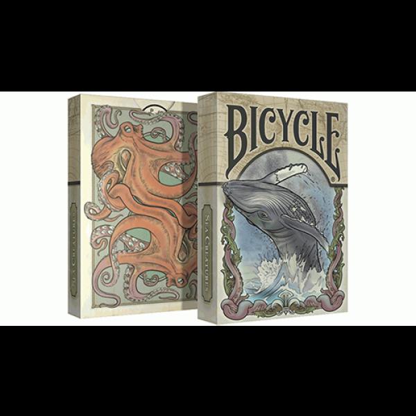 Mazzo di Carte Sea Creatures Deck (Bicycle Coloriz...