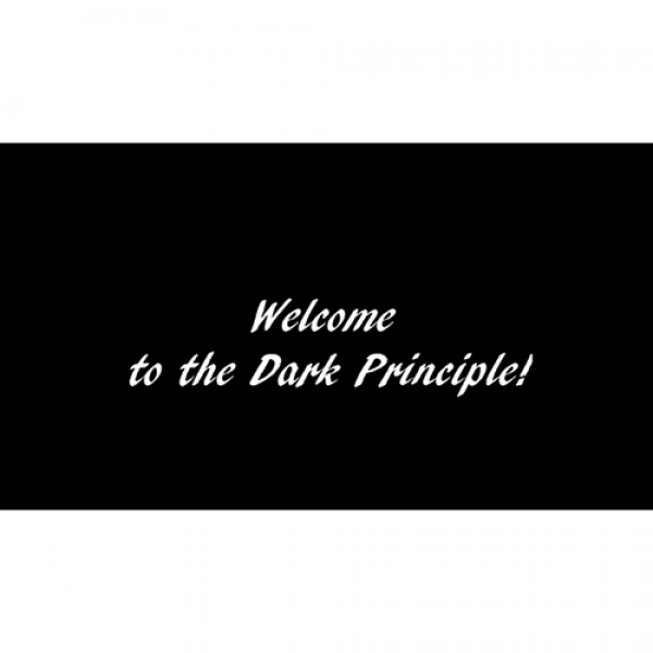 The Dark Principle by Cristian Pestritu and Justin...