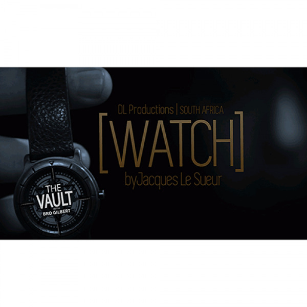 The Vault - WATCH by Jaques Le Sueur Mixed Media D...