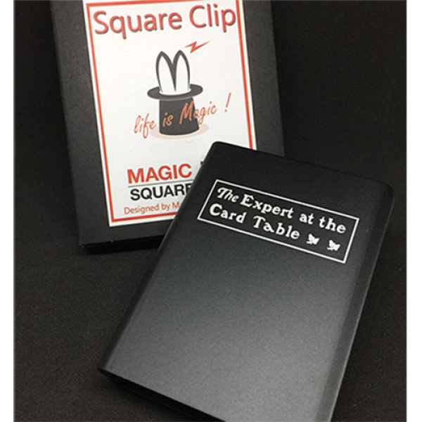 Expert At The Card Table Card Clip (Black) by Magi...