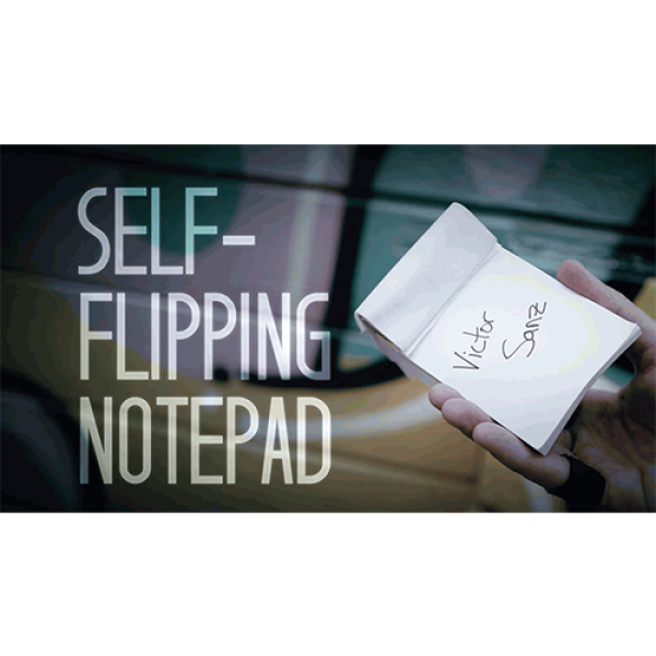 Self-Flipping Notepad (DVD and Gimmick) by Victor ...