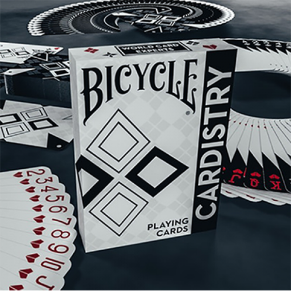 Bicycle Cardistry Black and White Playing Cards by...