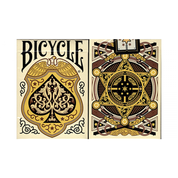 Bicycle Wild West (Lawmen Edition) Playing Cards