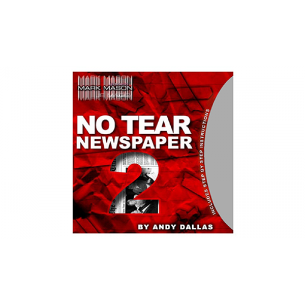 No Tear Newspaper 2 (Gimmick and Online Instructio...