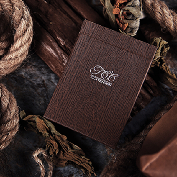 Wooden Trainers Playing Cards by TCC