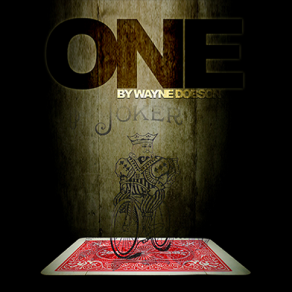 ONE (Gimmicks and Online Instructions) by Wayne Do...