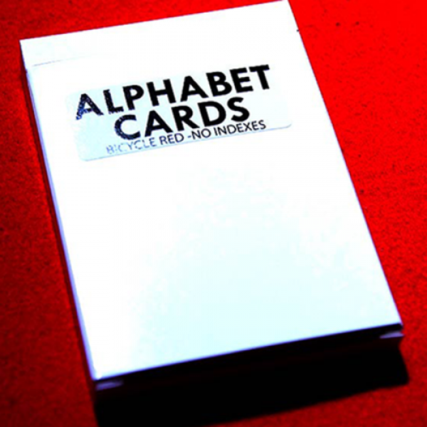 Alphabet Playing Cards Bicycle No Index by PrintBy...
