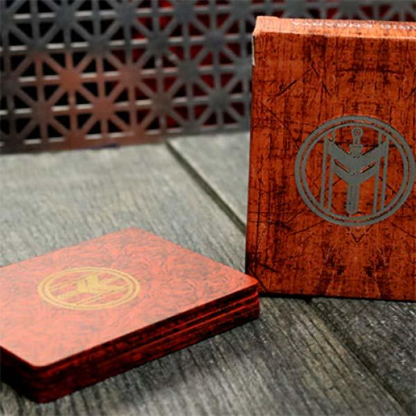 FIBER BOARDS Cardistry Trainers (Jasper Red) by Ma...