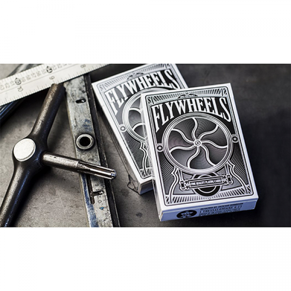 Flywheels Playing Cards by Jackson Robinson and Ex...
