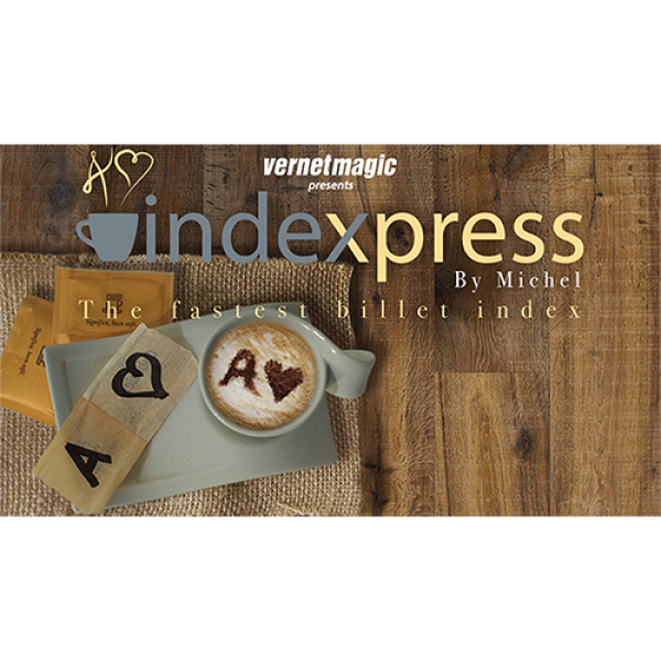 Indexpress (Gimmick and Online Instructions) by Vernet Magic