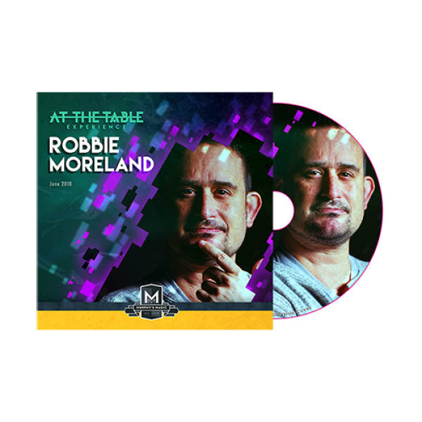 At The Table Live Robbie Moreland - DVD
