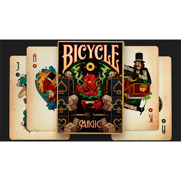 Bicycle Magic Playing Cards by Prestige Playing Ca...