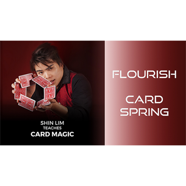 Card Spring Flourish by Shin Lim (Single Trick) vi...
