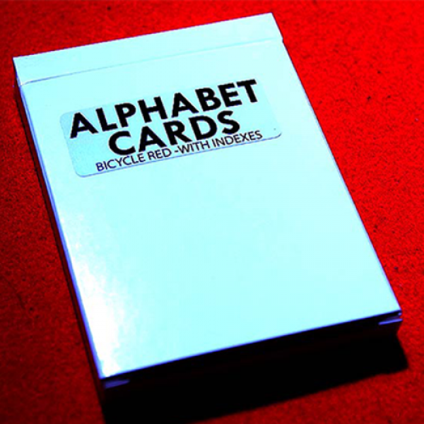 Alphabet Playing Cards Bicycle With Indexes by Pri...