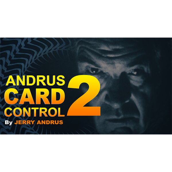 Andrus Card Control 2 by Jerry Andrus Taught by Jo...