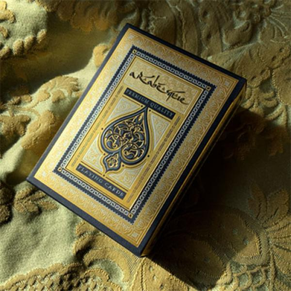 ARABESQUE Playing Cards - Player's Edition (Blue) ...