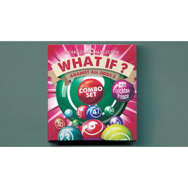 What If? (2 Decks Gimmick and DVD) by Carl Crichto...