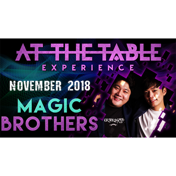 At The Table Live Magic Brothers November 21, 2018...