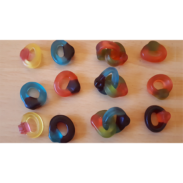 Visible Linking Jelly Sweet Gummy Finger Rings by ...