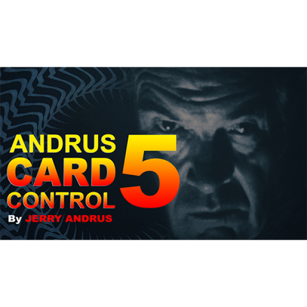 Andrus Card Control 5 by Jerry Andrus Taught by Jo...
