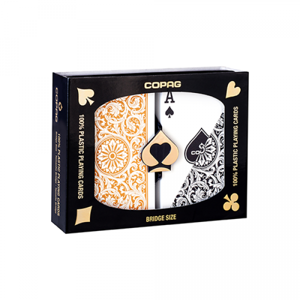 Copag 1546 Plastic Playing Cards Bridge Size Regul...