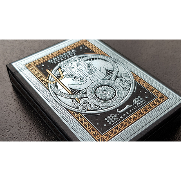 Odissea Neptune Playing Cards by Giovanni Meroni