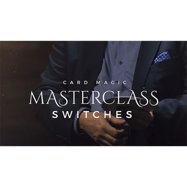 Card Magic Masterclass (Switches) by Roberto Giobbi - DVD