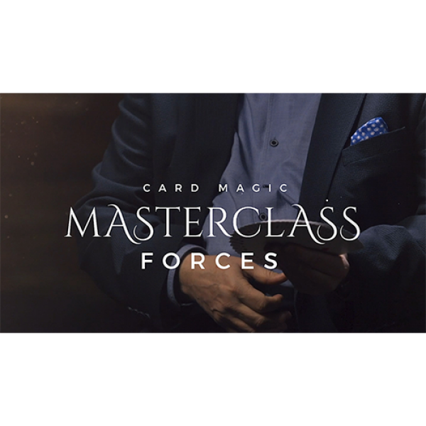 Card Magic Masterclass (Forces) by Roberto Giobbi ...