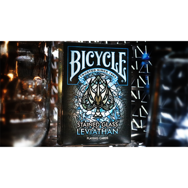 Mazzo di carte Bicycle Stained Glass Leviathan Pla...