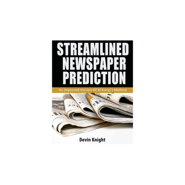 Streamlined Newspaper Prediction by Devin Knight e...