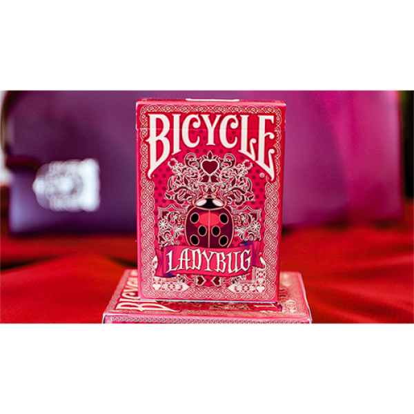Limited Edition Bicycle Ladybug (Red) Playing Card...