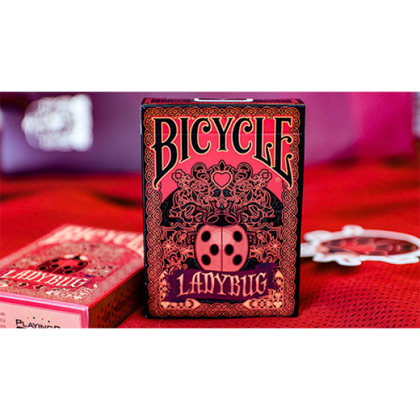 Limited Edition Bicycle Ladybug (Black) Playing Ca...
