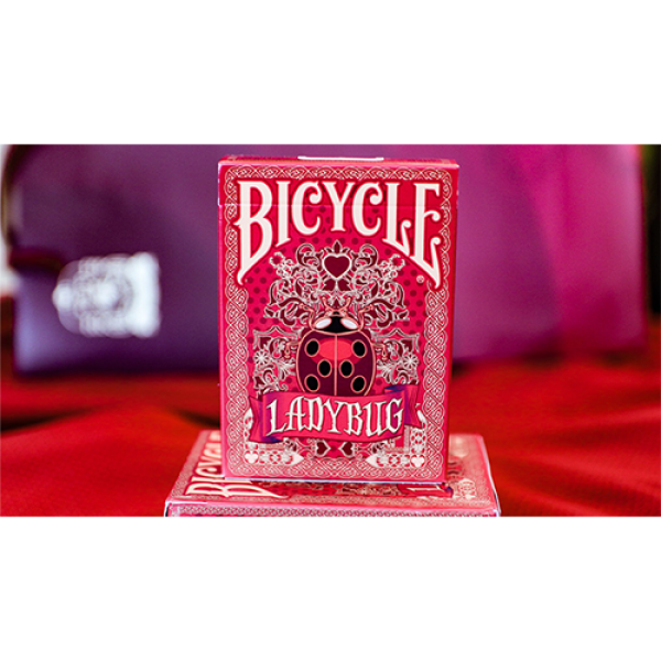 Bicycle Gilded Limited Edition Ladybug (Red) Playi...
