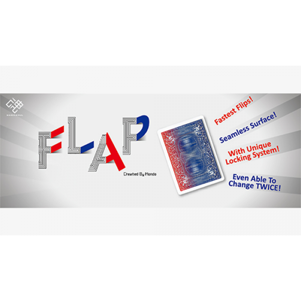 Modern Flap Card (Blank to 8) by Hondo