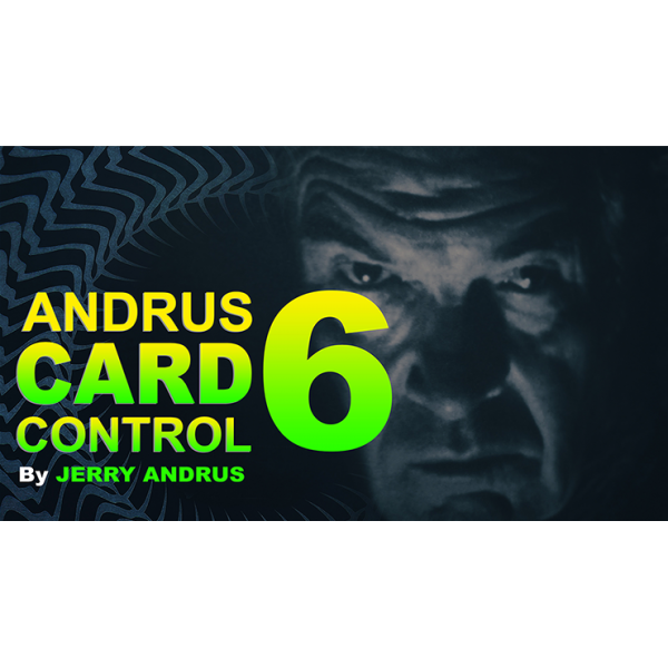 Andrus Card Control 6 by Jerry Andrus Taught by Jo...